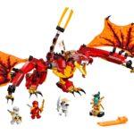 LEGO Ninjago 71753 Kais Feuerdrache 1