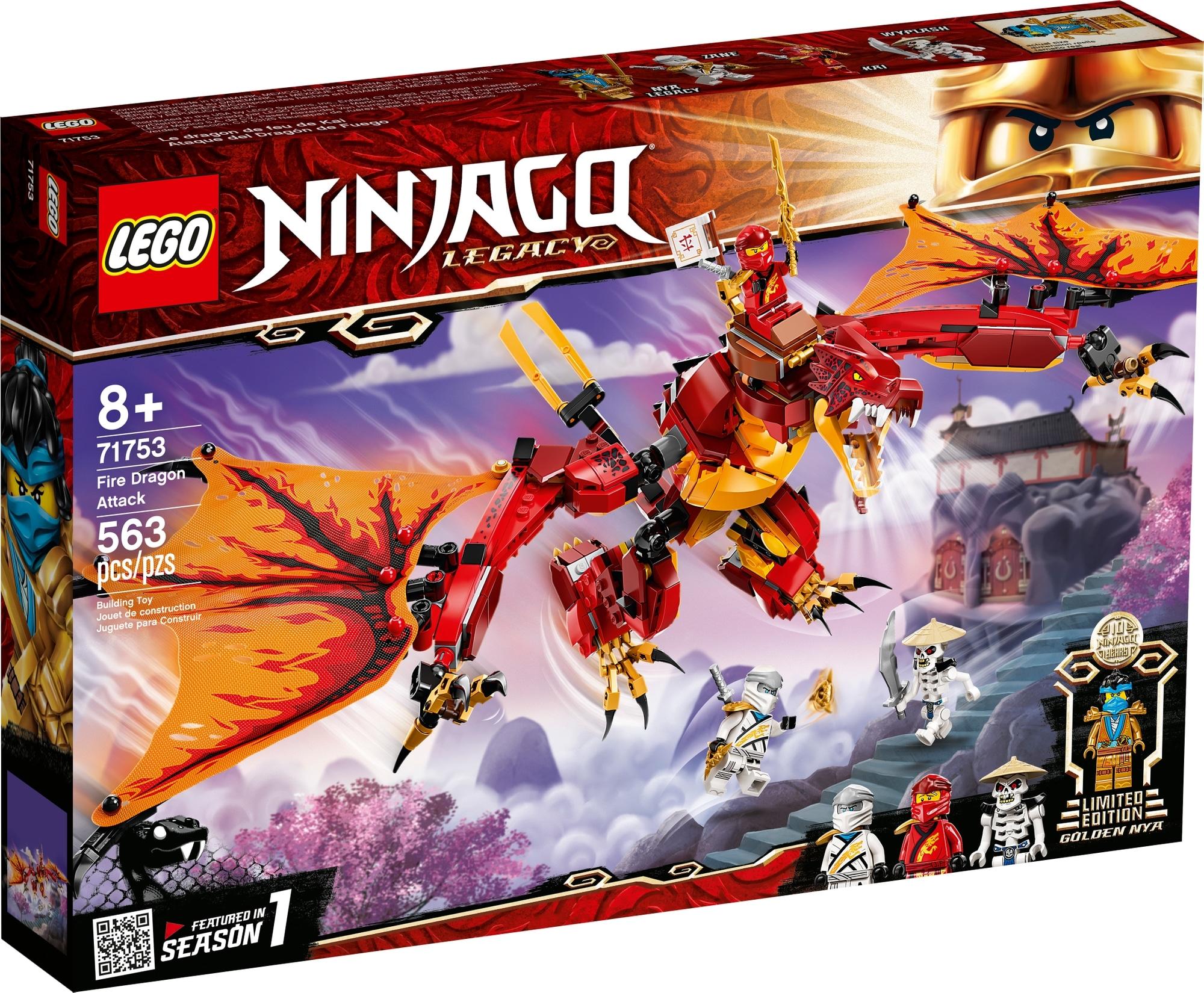 LEGO Ninjago 71753 Kais Feuerdrache 2