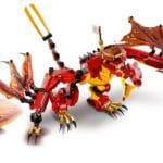LEGO Ninjago 71753 Kais Feuerdrache 8