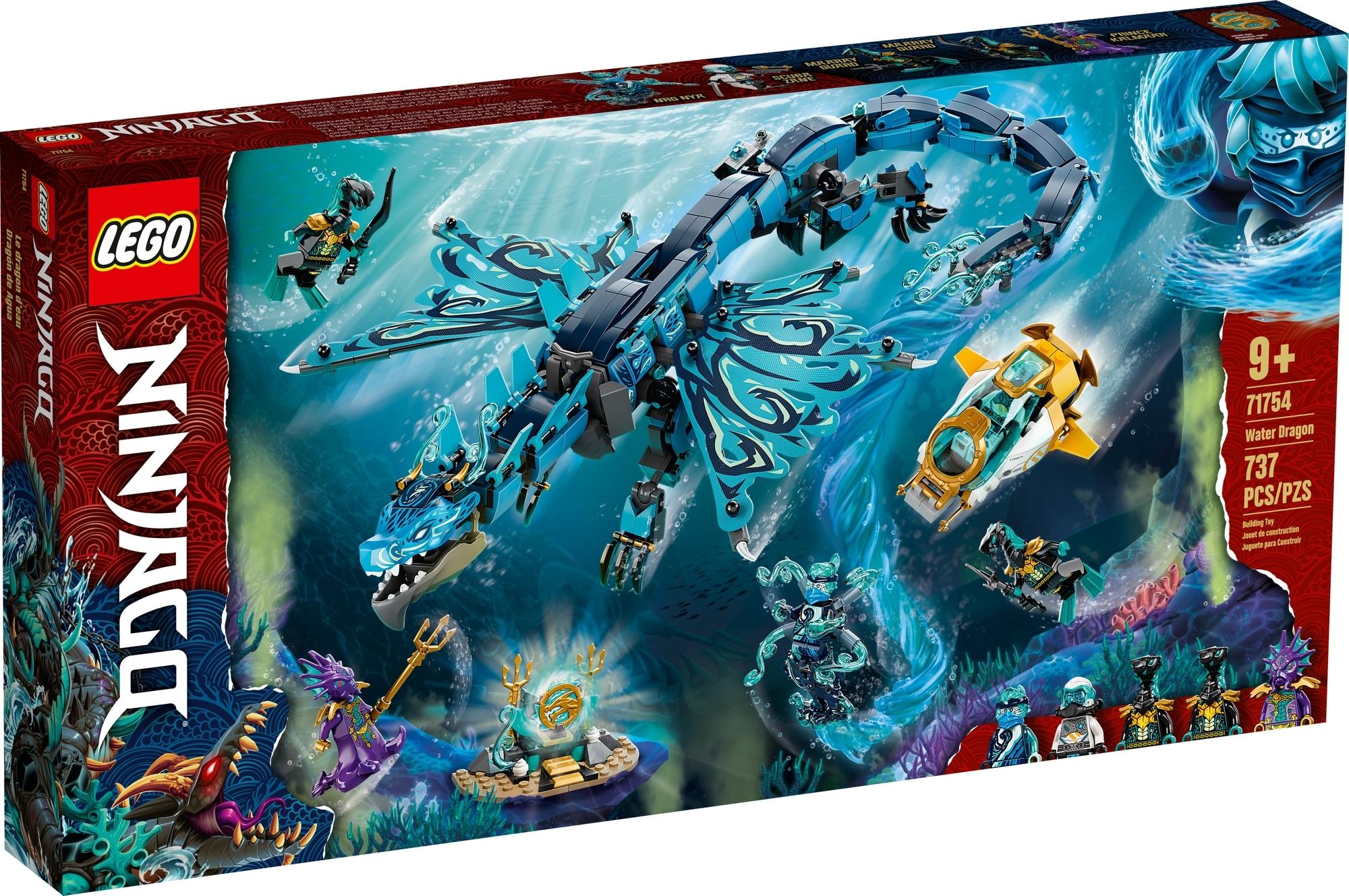 LEGO Ninjago 71754 Wasserdrache 2