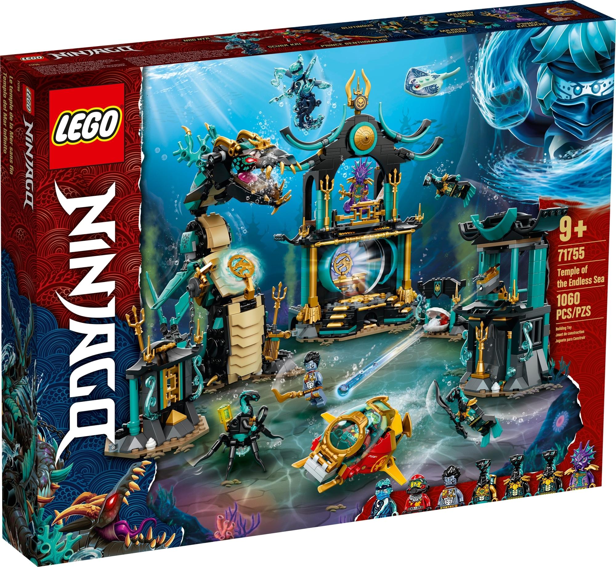 LEGO Ninjago 71755 Tempel Des Unendlichen Ozeans 2