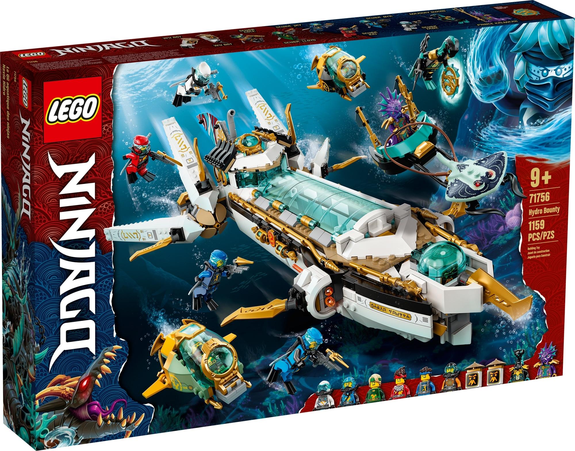 LEGO Ninjago 71756 Wassersegler 2