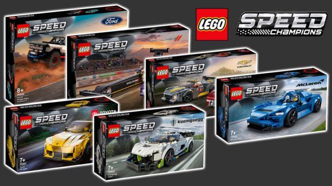LEGO Speed Champions 2021 Neuheiten