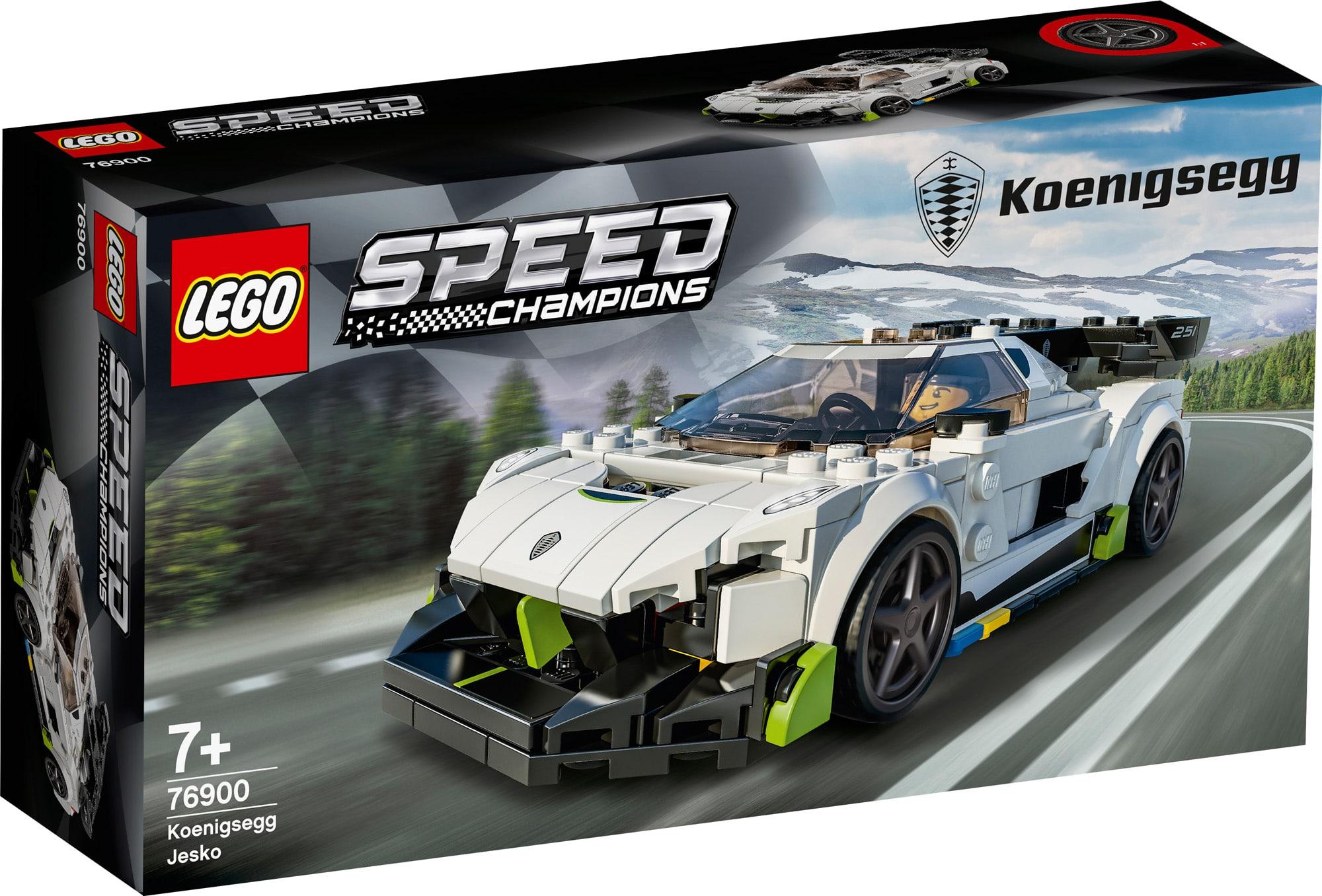 LEGO Speed Champions 76900 Koenigsegg 1