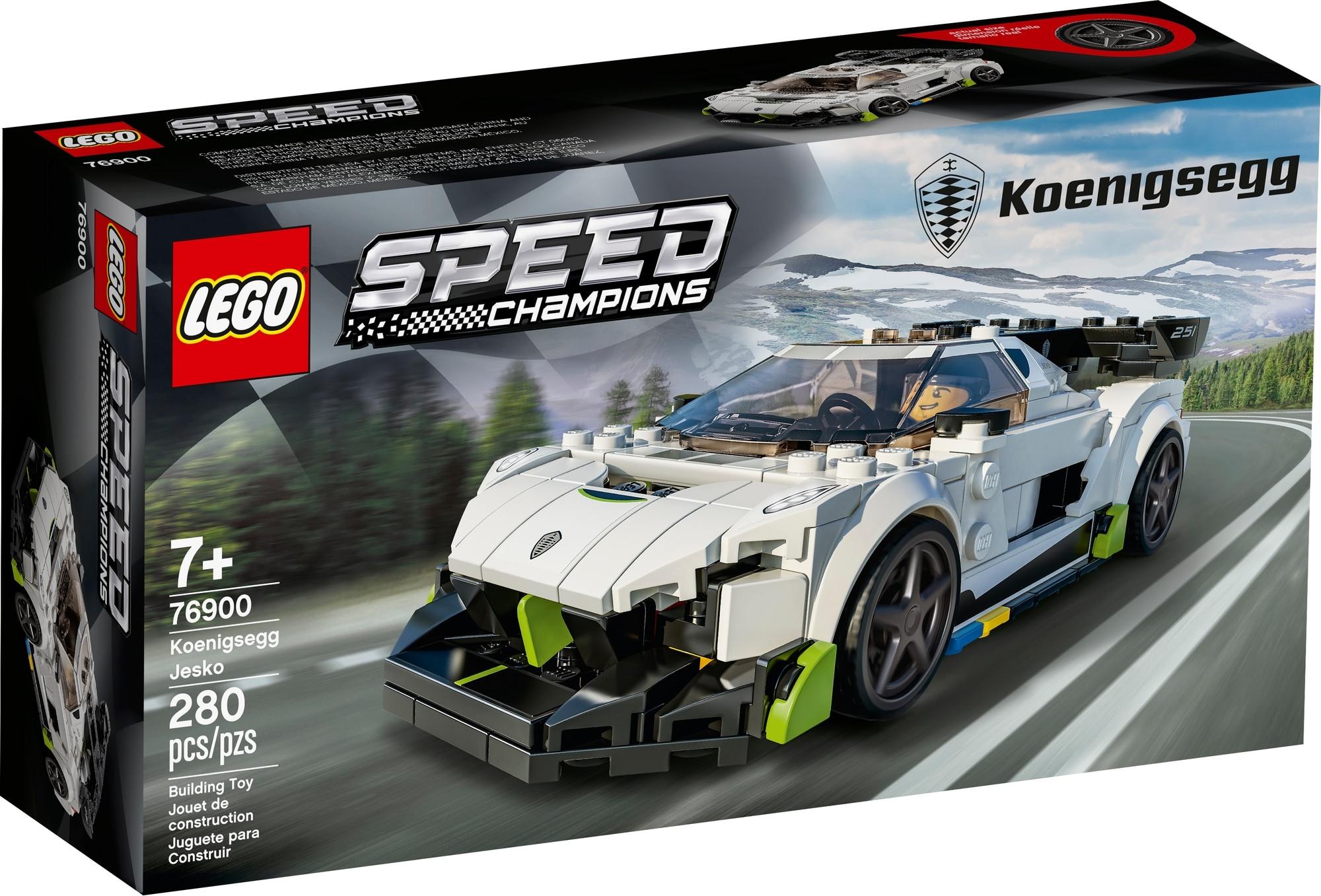 LEGO Speed Champions 76900 Koenigsegg Jesko 2