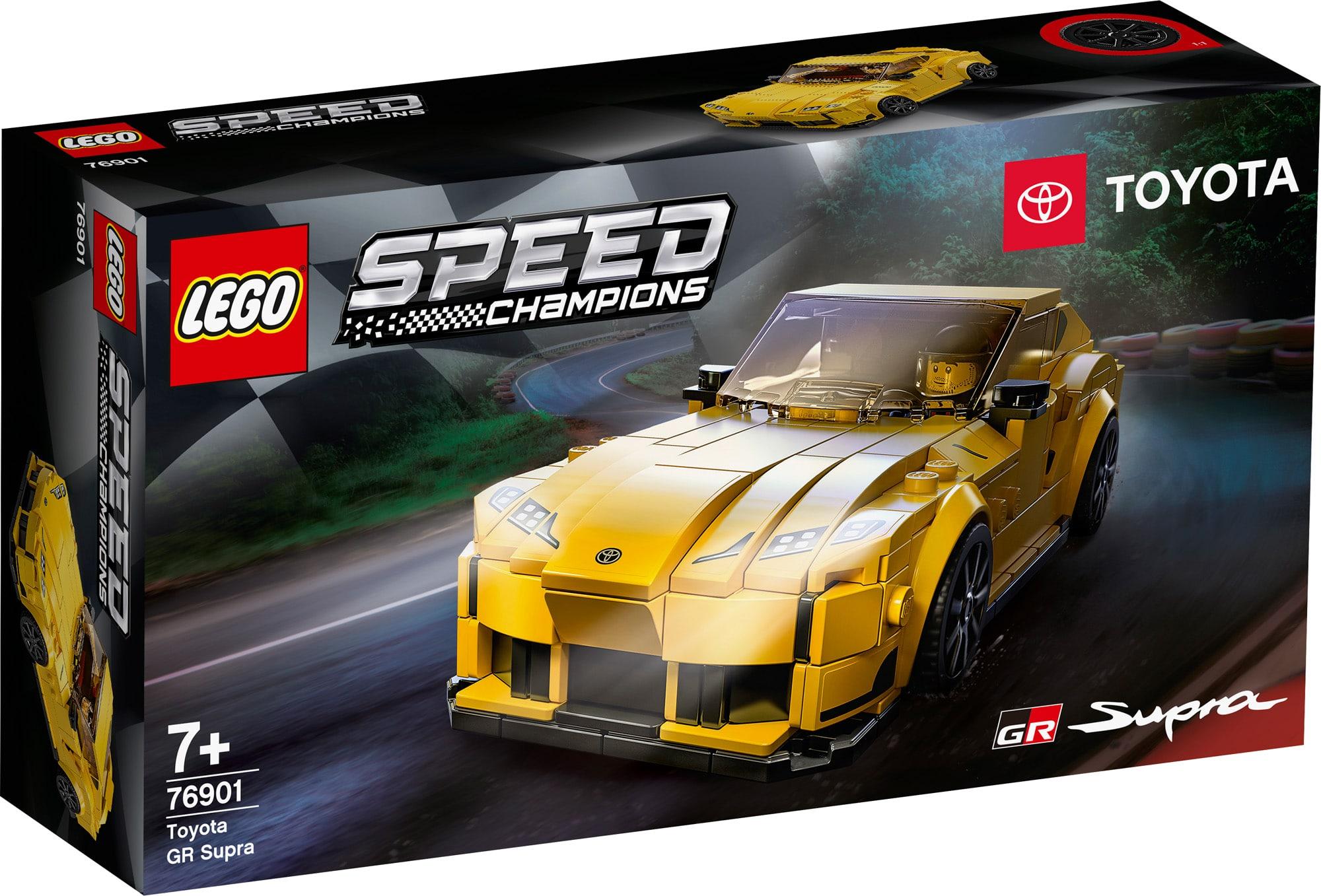 LEGO Speed Champions 76901 Toyota Supra 3