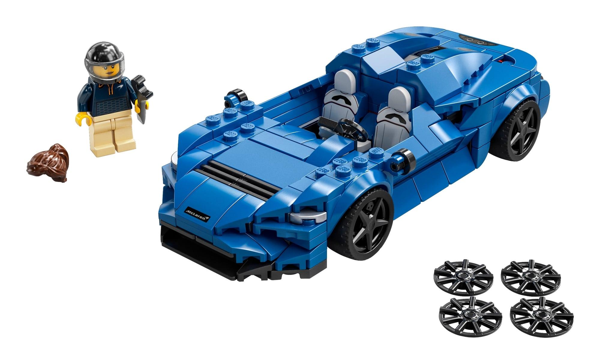 LEGO Speed Champions 76902 Mclaren Elva 1