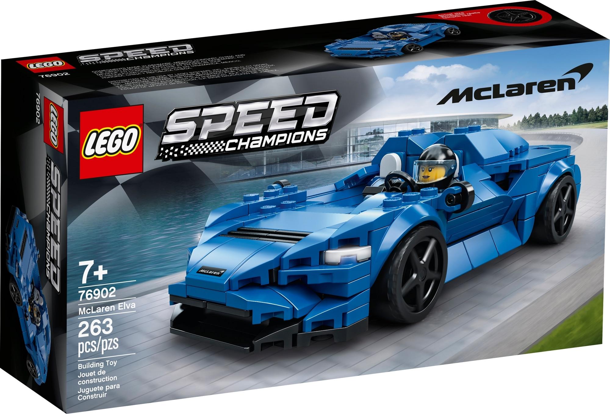 LEGO Speed Champions 76902 Mclaren Elva 2
