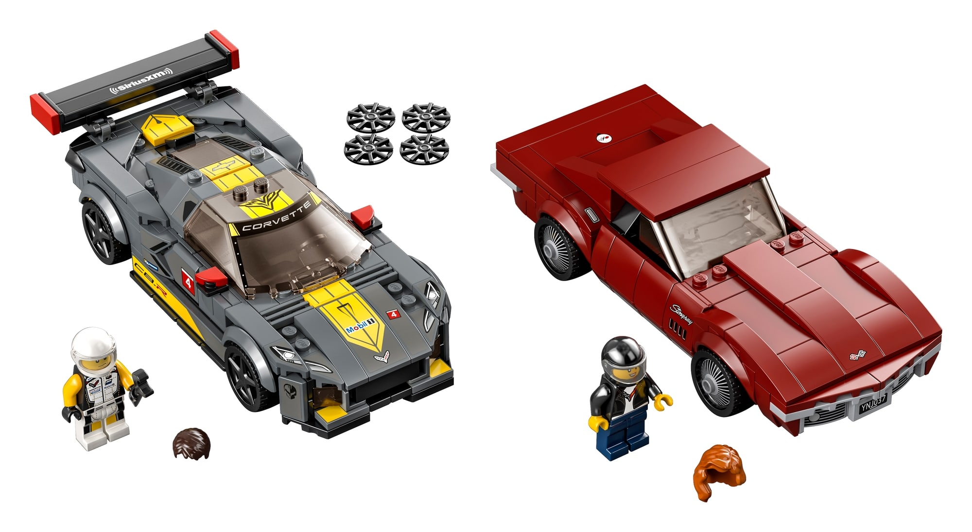 LEGO Speed Champions 76903 Chevrolet Corvette C8.r & 1968 Chevrolet Corvette 1