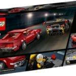 LEGO Speed Champions 76903 Chevrolet Corvette C8.r & 1968 Chevrolet Corvette 8
