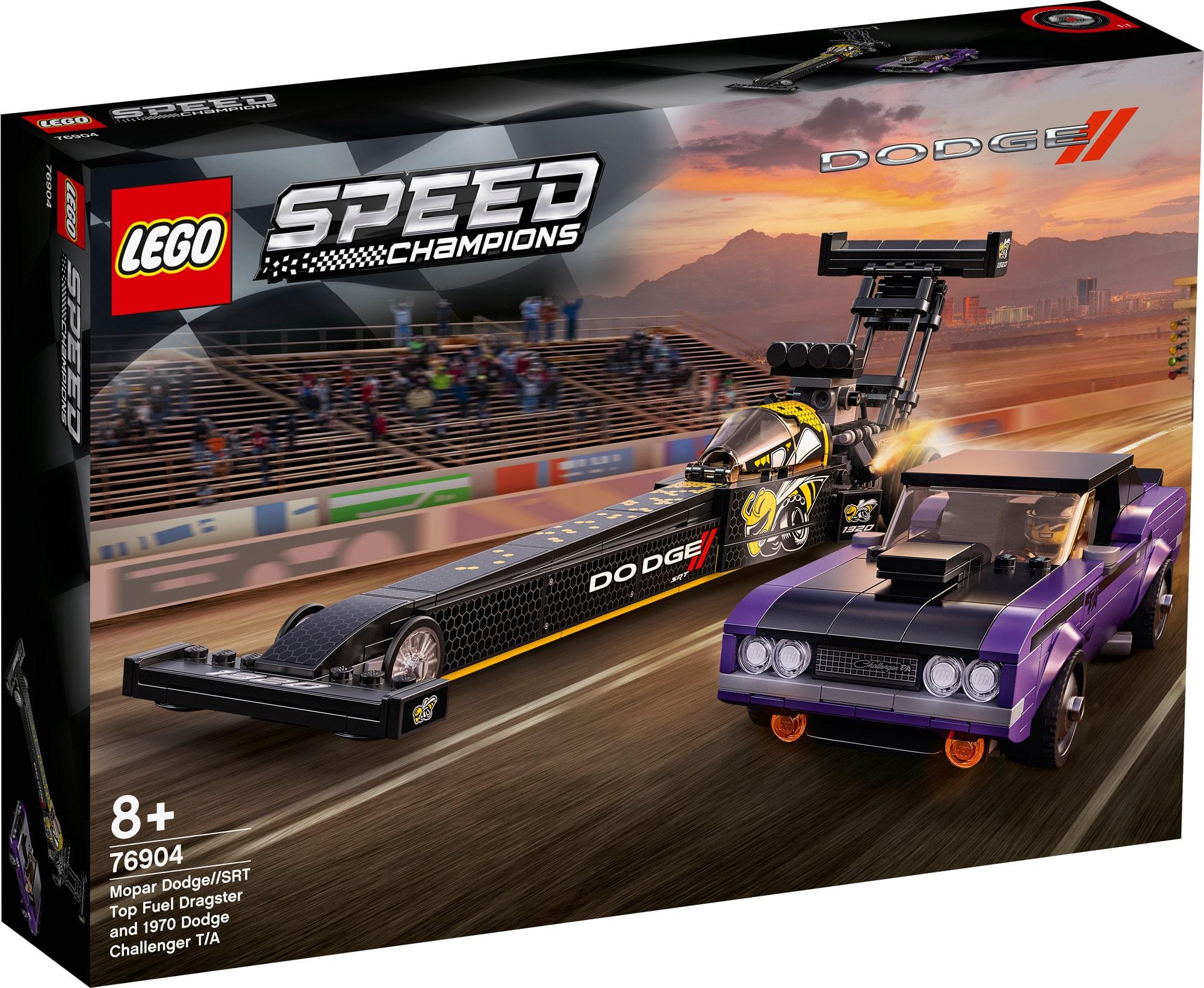 LEGO Speed Champions 76904 Dodge 1