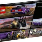 LEGO Speed Champions 76904 Mopar Dodge Srt Dragster & 1970 Dodge Challenger 9