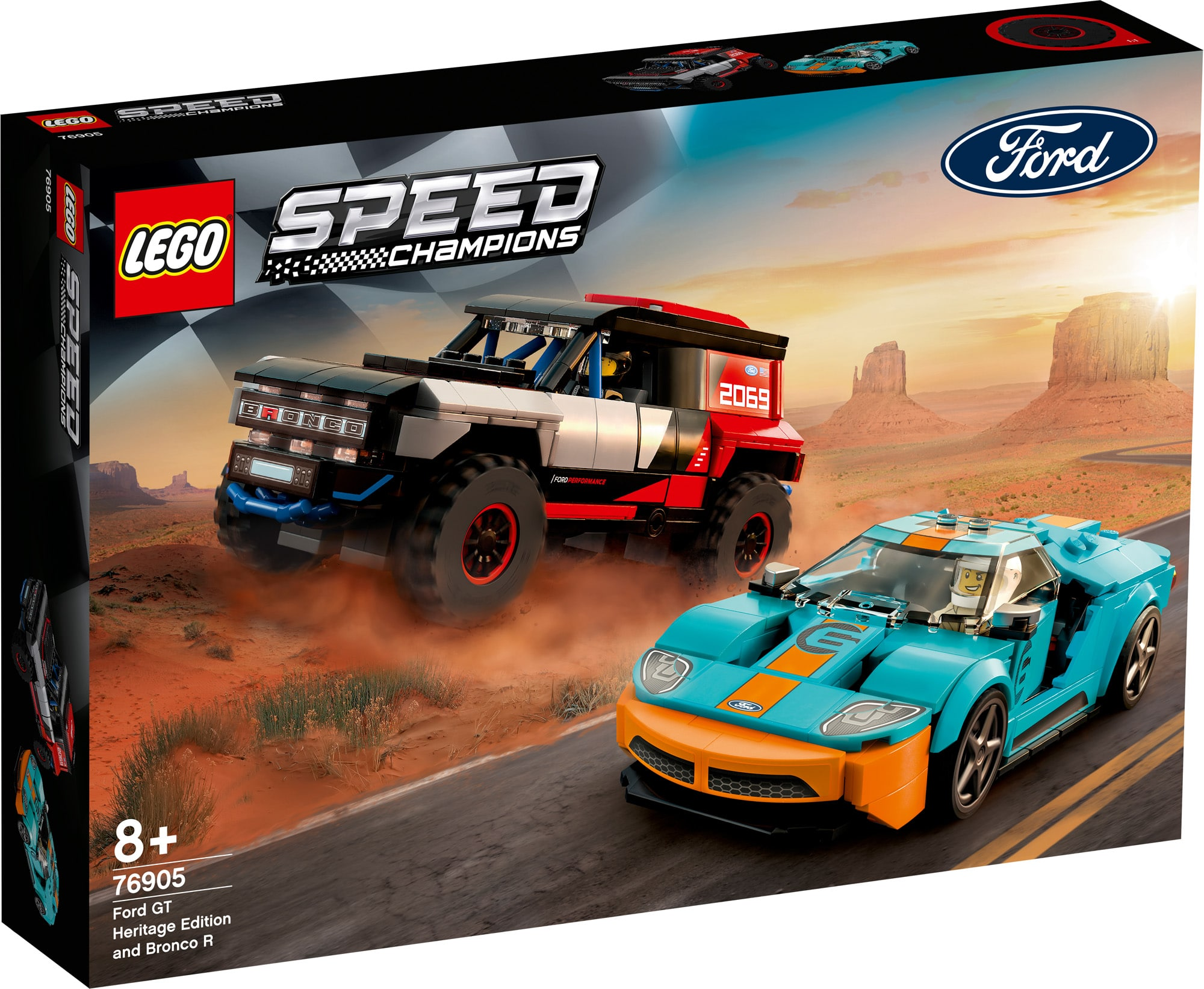 LEGO Speed Champions 76905 Ford 1