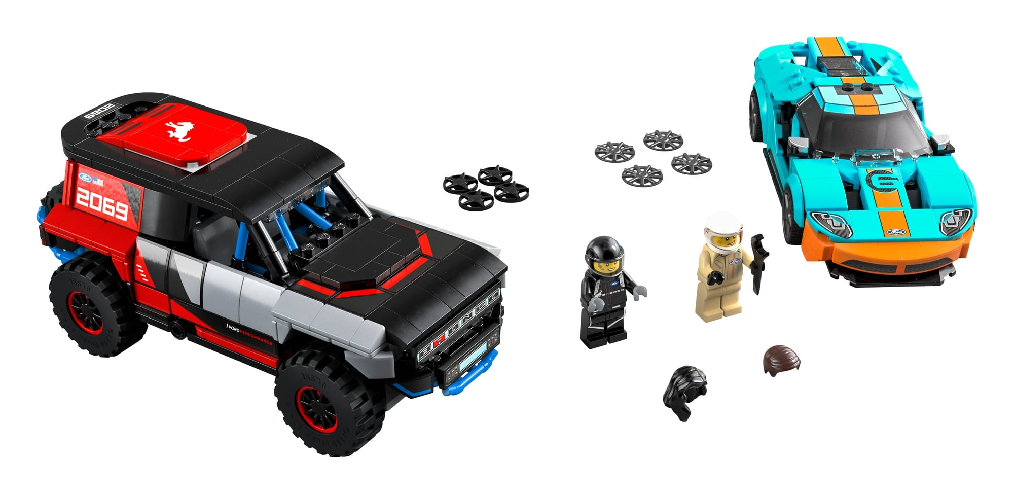 LEGO Speed Champions 76905 Ford Gt Heritage Edition Und Bronco R 1