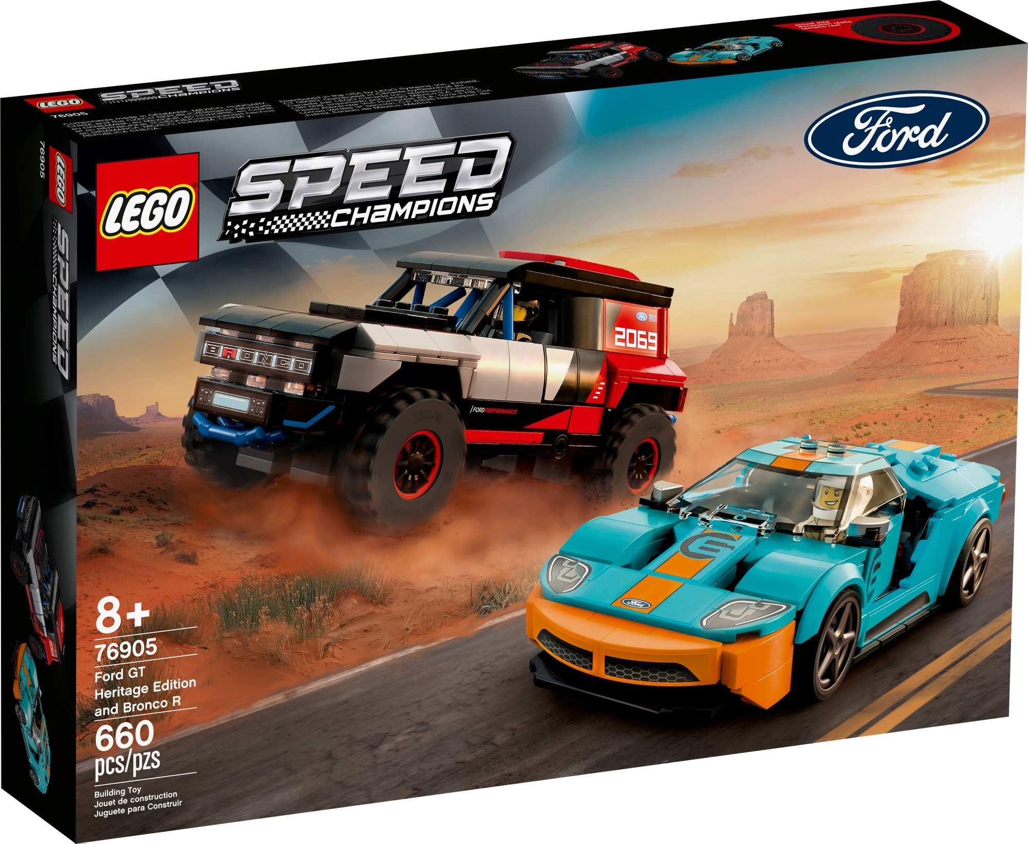 LEGO Speed Champions 76905 Ford Gt Heritage Edition Und Bronco R 2