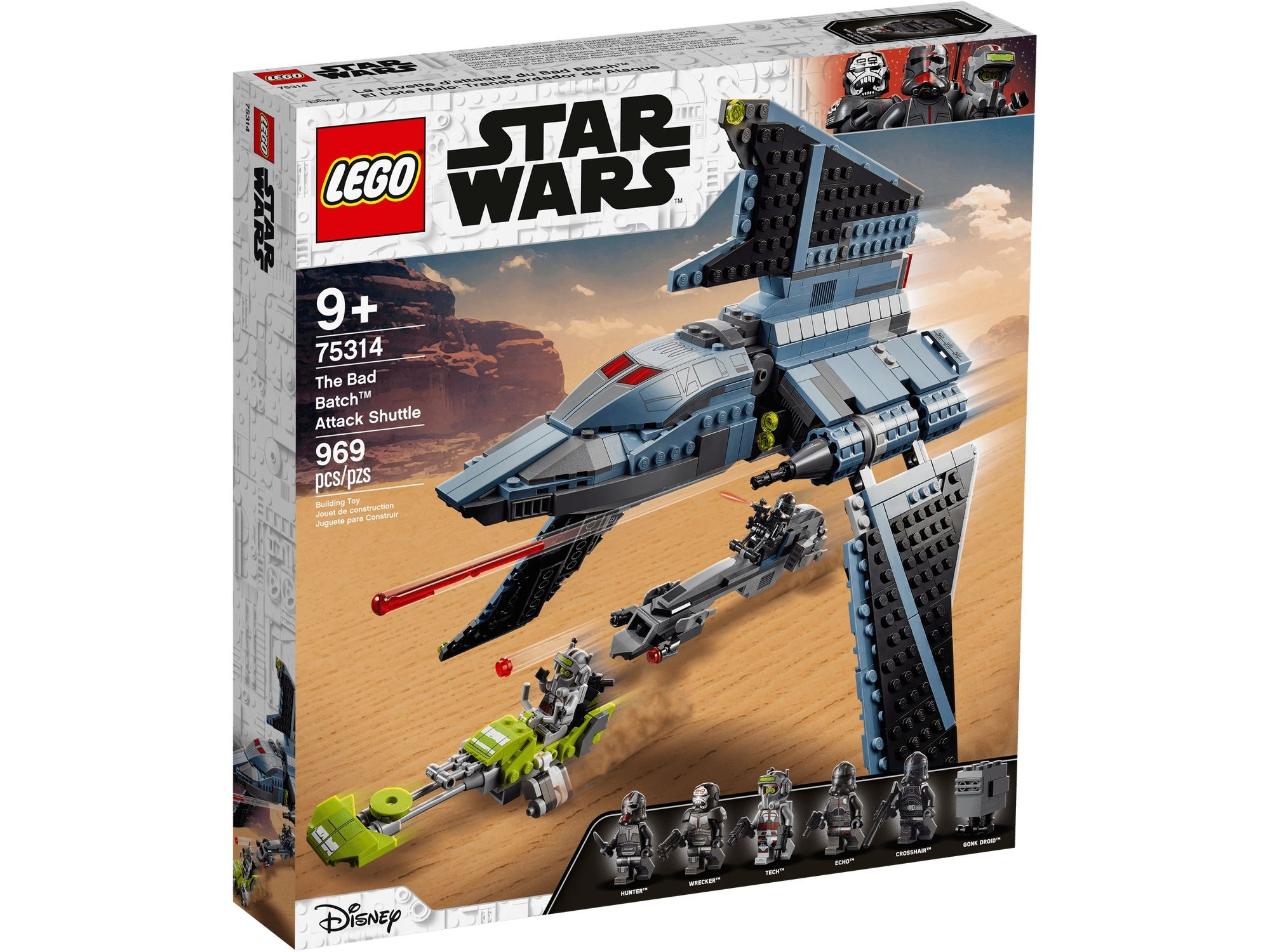 LEGO Star Wars 75314 Angriffsshuttle Aus The Bad Batch 2