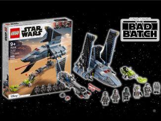 LEGO Star Wars 75314 Bad Batch Angriffsshuttle Titel2