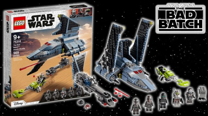 LEGO Star Wars 75314 Bad Batch Angriffsshuttle Titel2