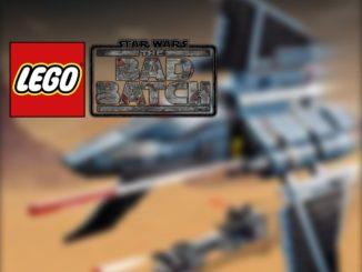 LEGO Star Wars 75314 Bad Batch Shuttle Leak