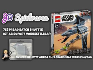 LEGO Star Wars 75314 Bad Batch Shuttle Vorbestellung
