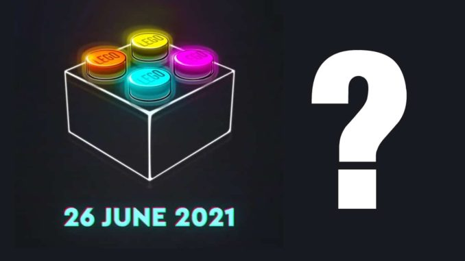 LEGO Teaser 26 Juni 2021 Titel