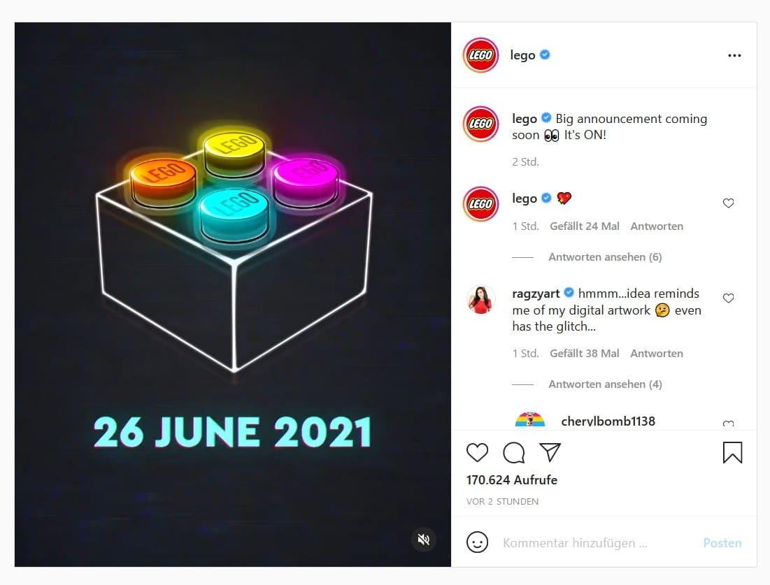 LEGO Teaser Für 26 Juni 2021