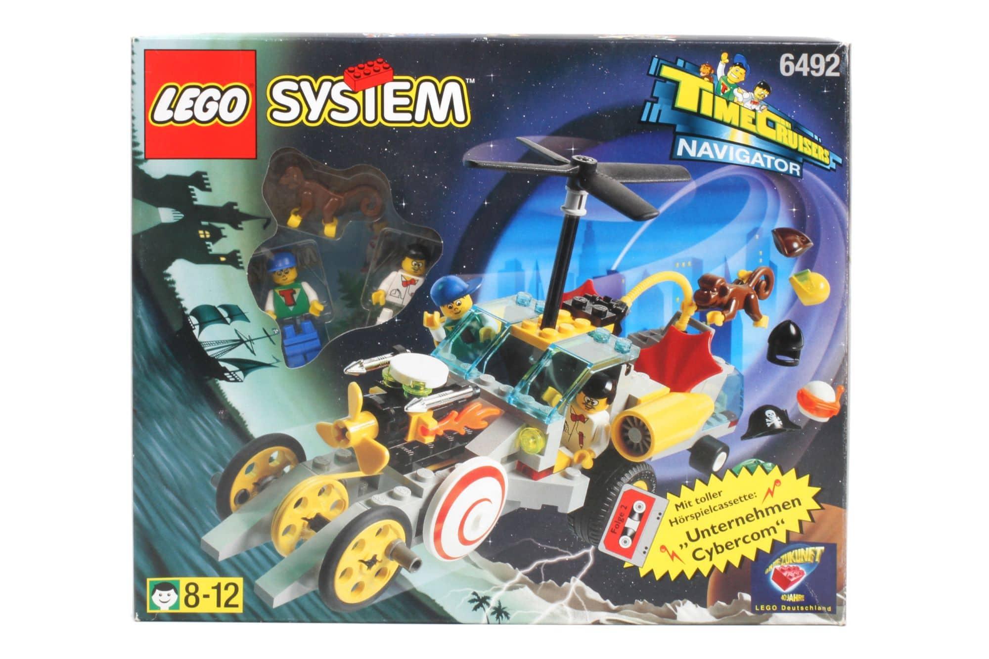 LEGO Time Cruisers 6492 Time Cruiser Navigator 1