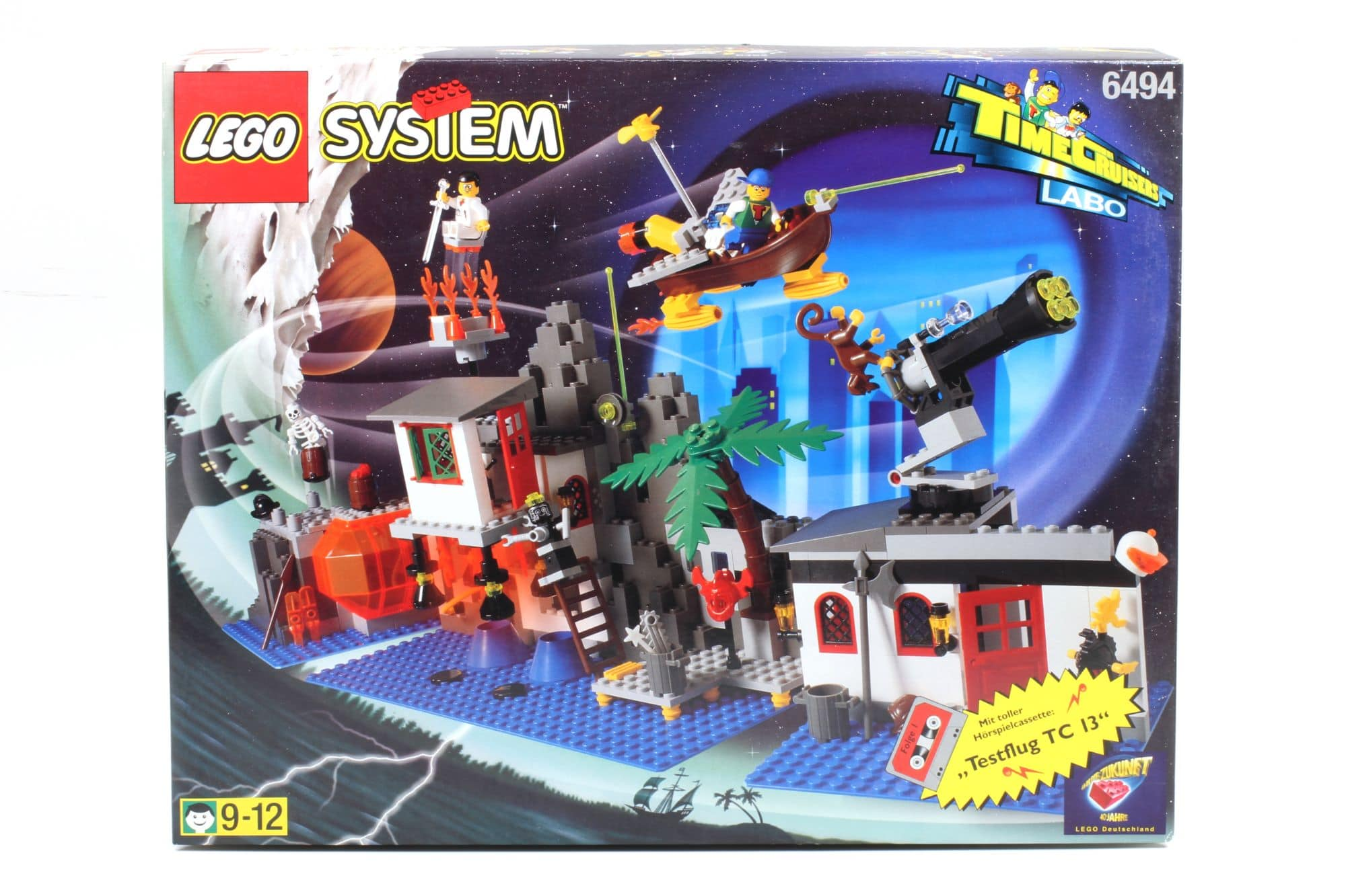LEGO Time Cruisers 6494 Time Cruiser Labo 1