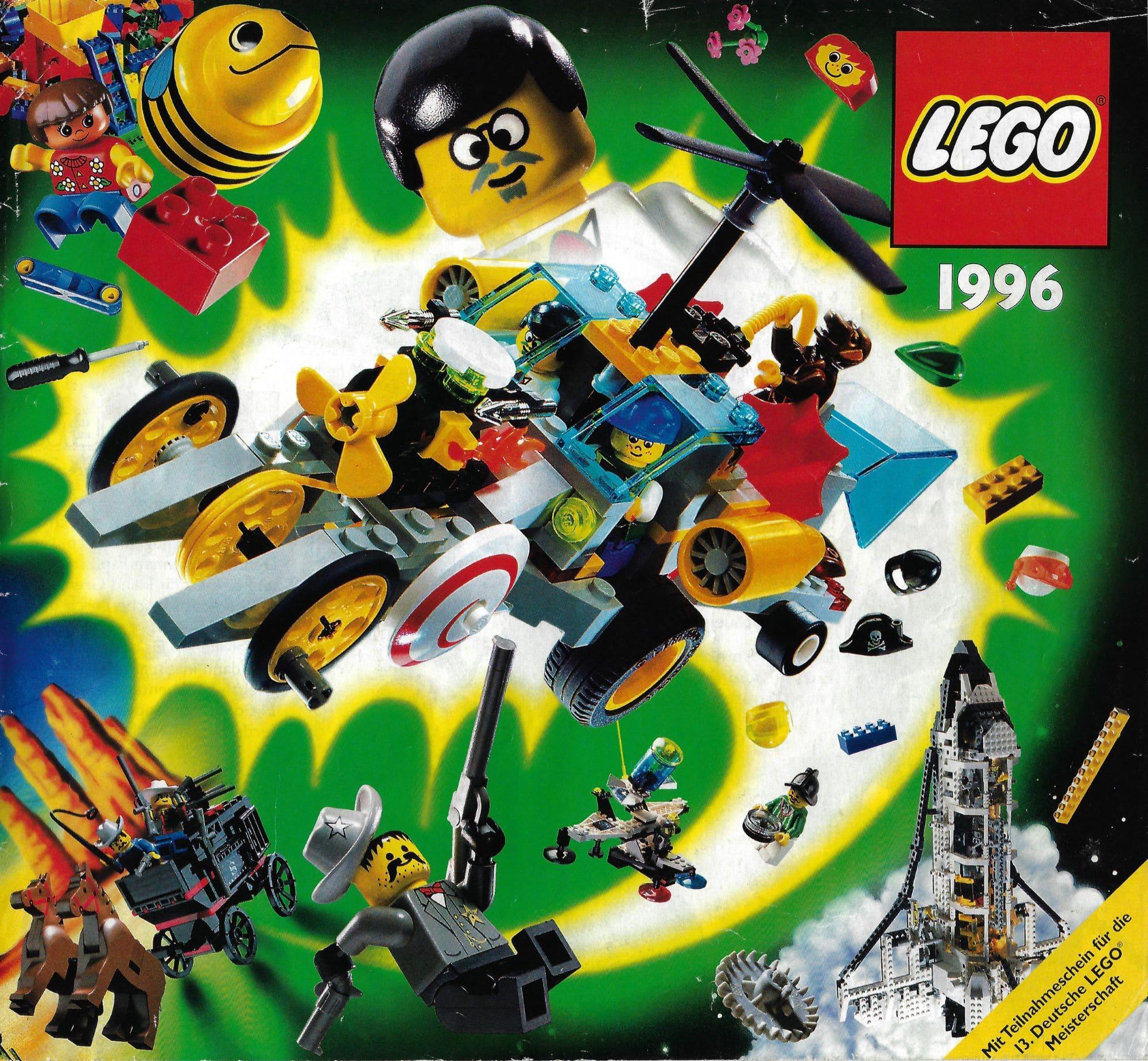 LEGO Time Cruisers Katalog De 1996 Cover