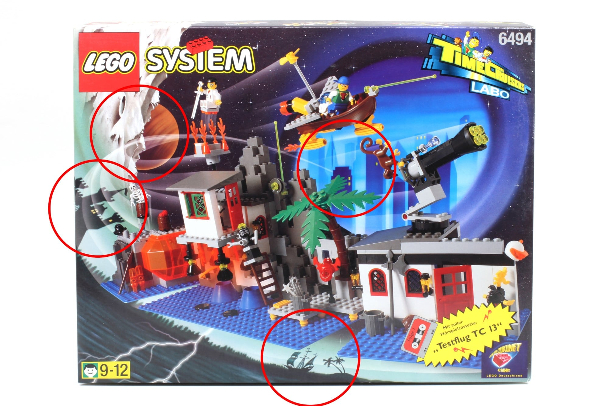 LEGO Time Cruisers Konzept