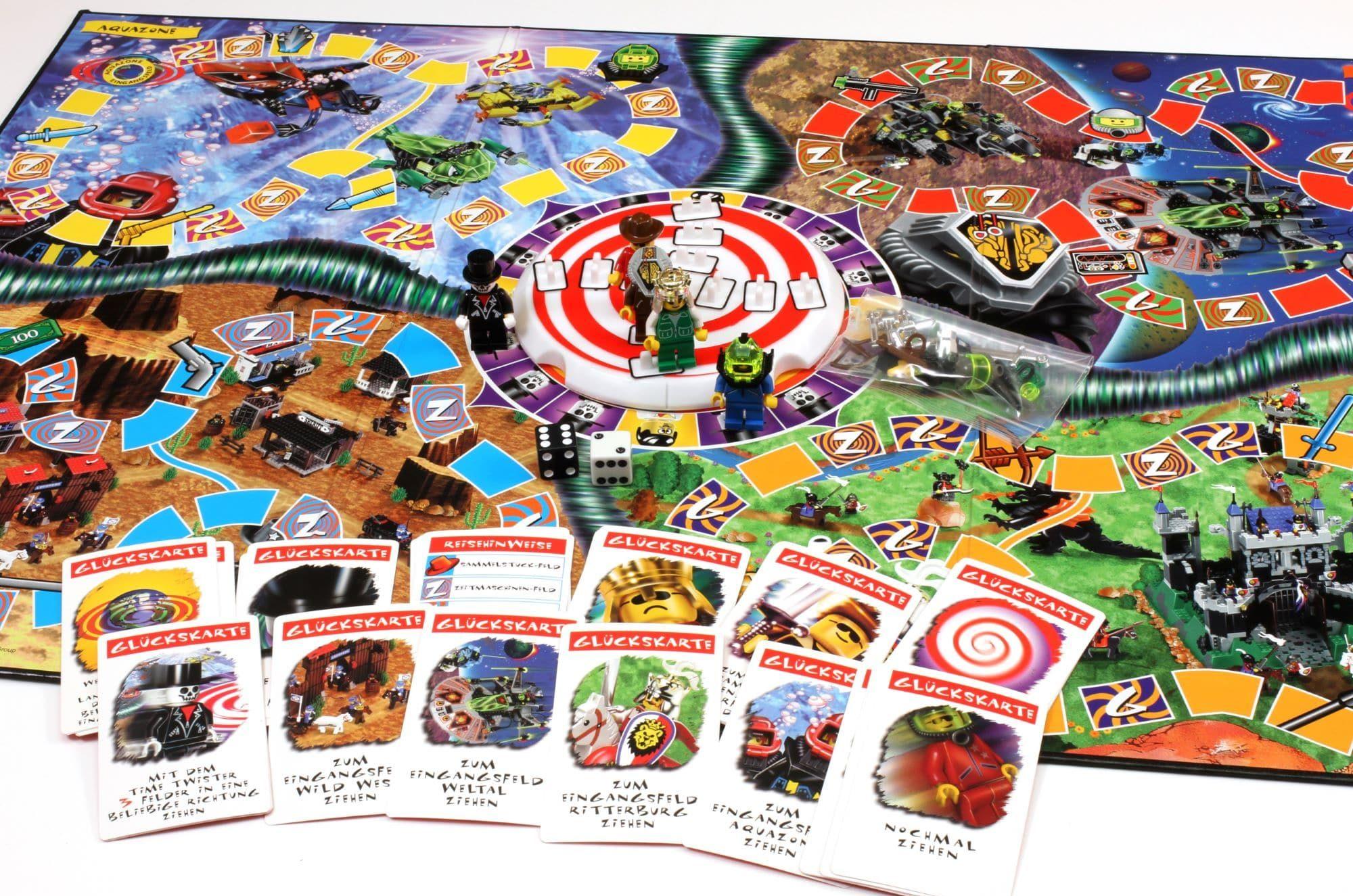 LEGO Time Cruisers Merchandise Brettspiel 4