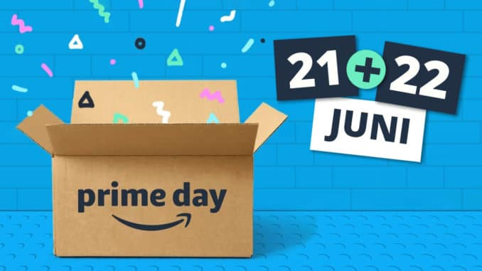 Amazon Prime Day Angebote Juni 2021 Titelbild