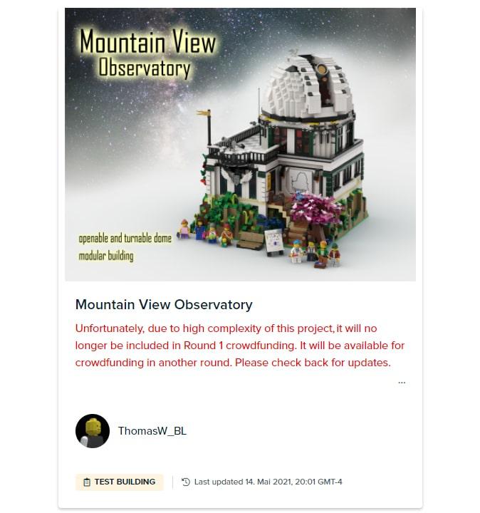 Bdp Observatory Verschoben