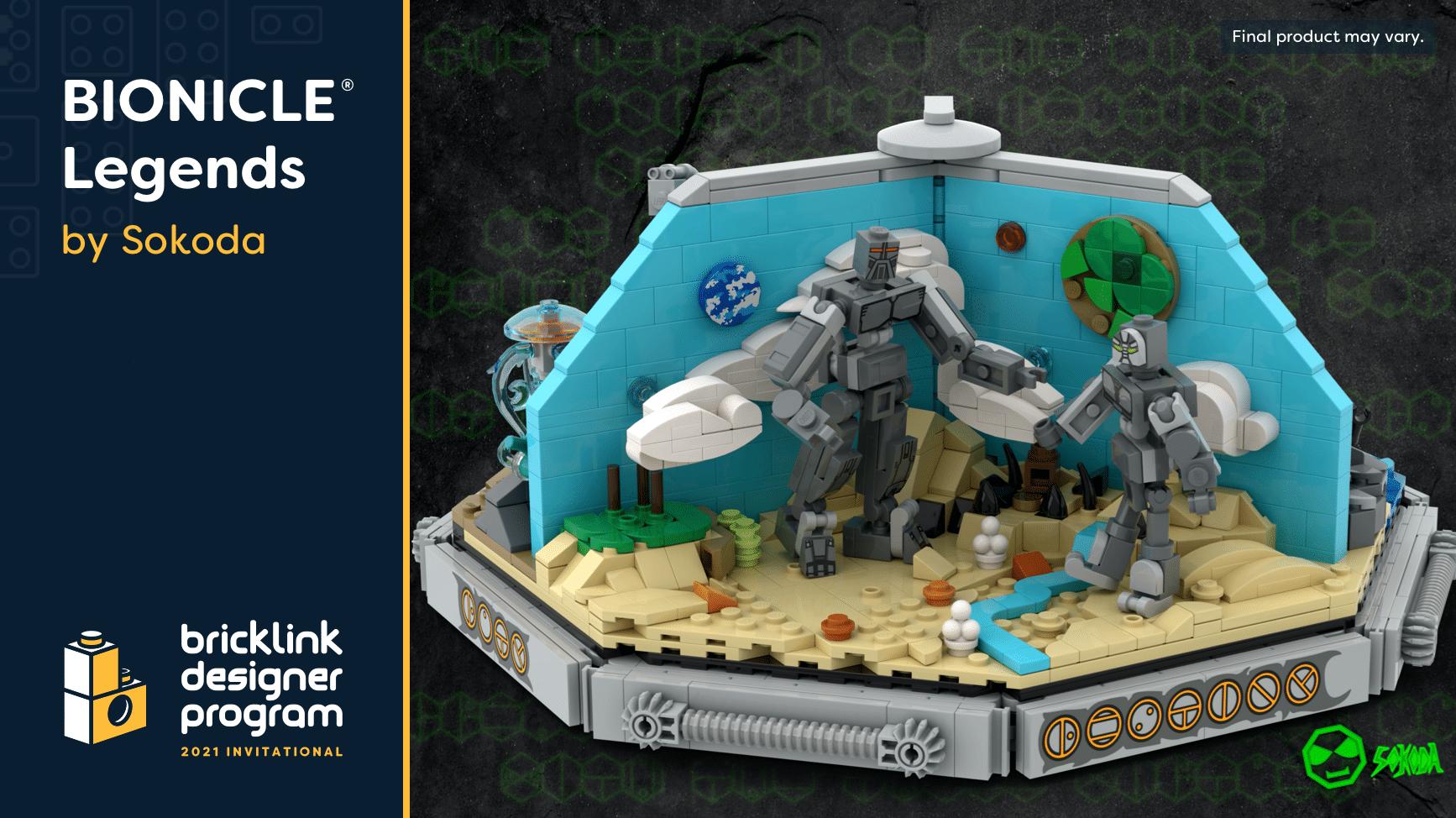 Bricklink Designer Program 2021 Bionicle Legends