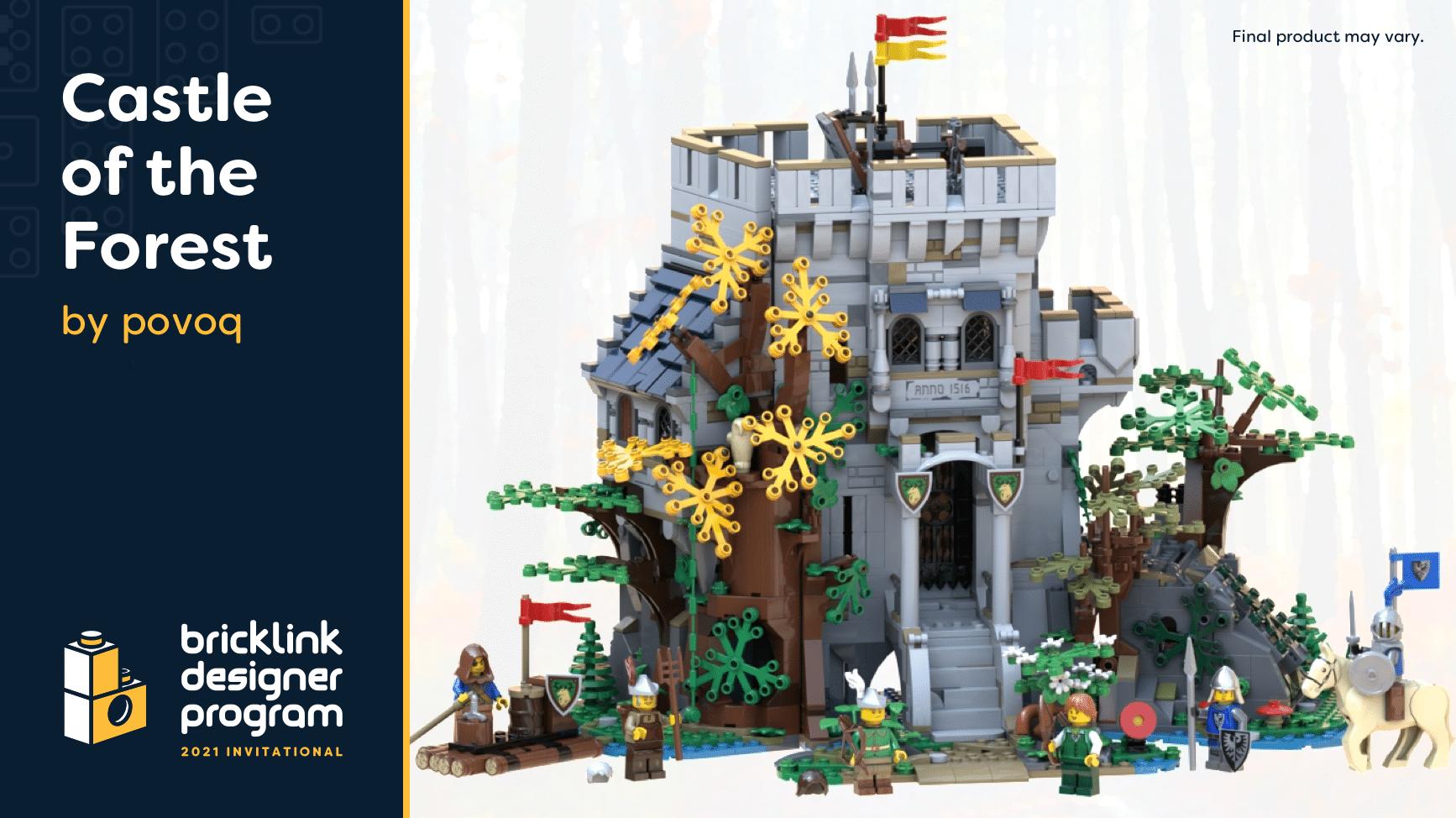 Bricklink Designer Program 2021 Castle Of The Forest