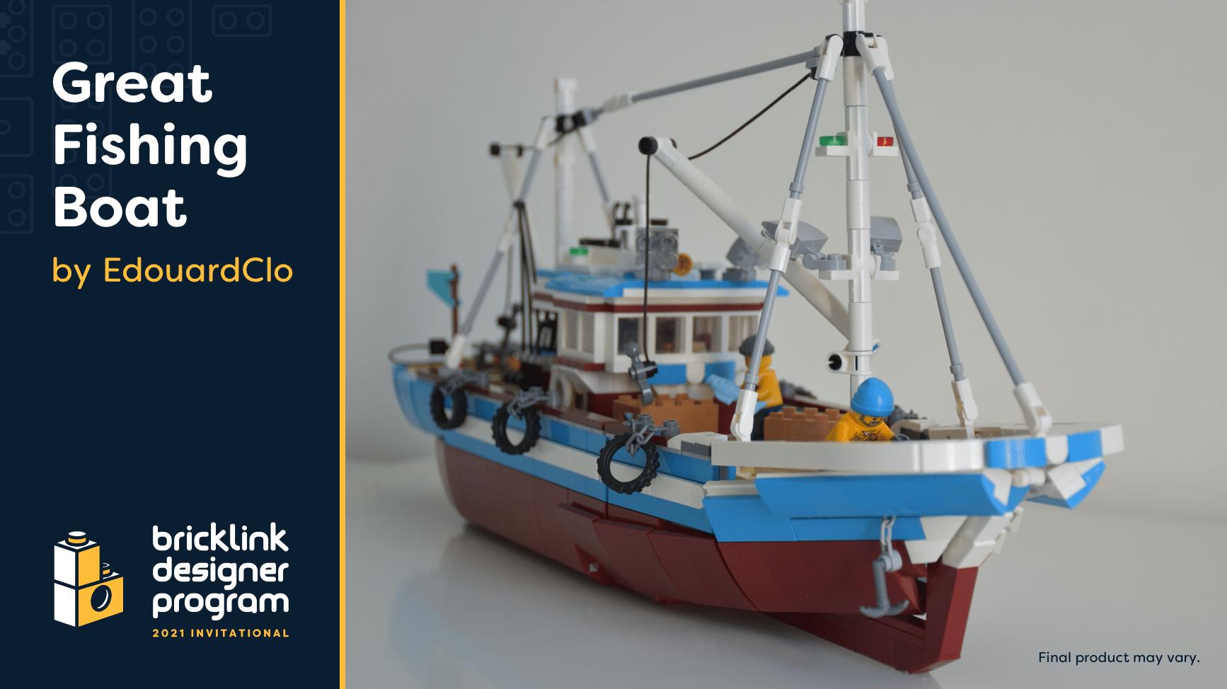Bricklink Designer Program 2021 Great Fising Boat