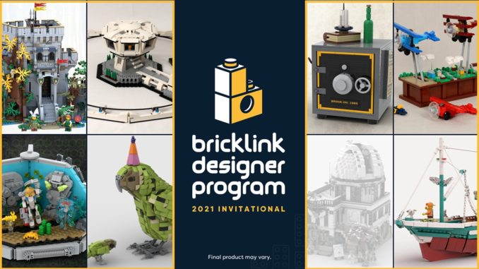 Bricklink Designer Program Titelbild Observatory