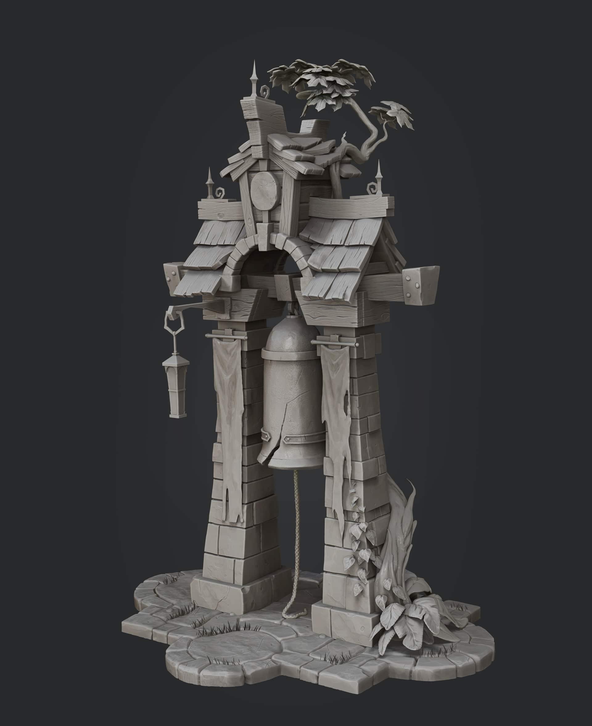 Glocken Turm Inspiration 3d Model