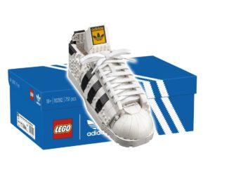 LEGO 10282 Adidas Superstar Sneaker Titelbild