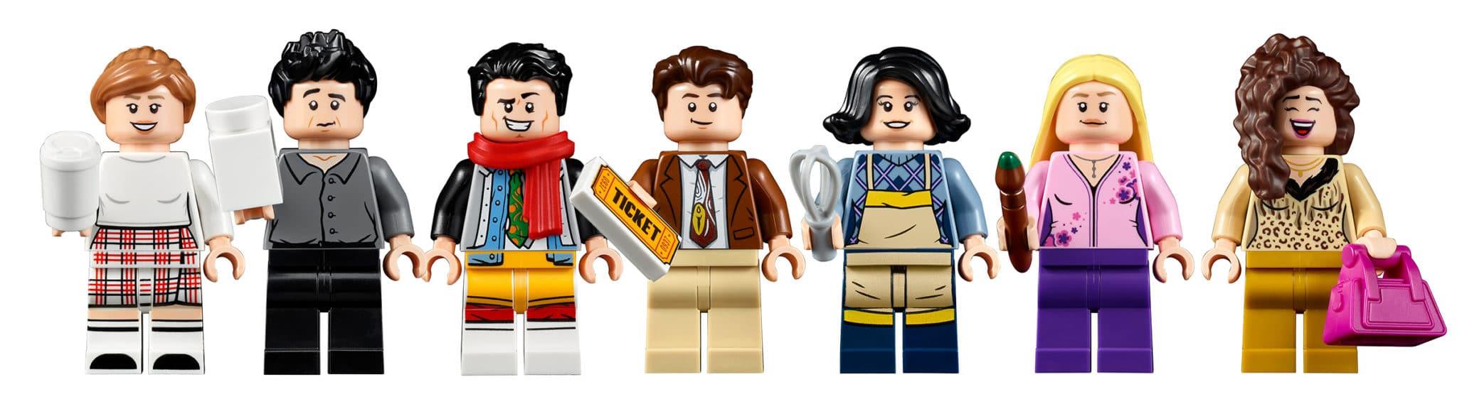 LEGO 10292 Friends Apartments Minifigures