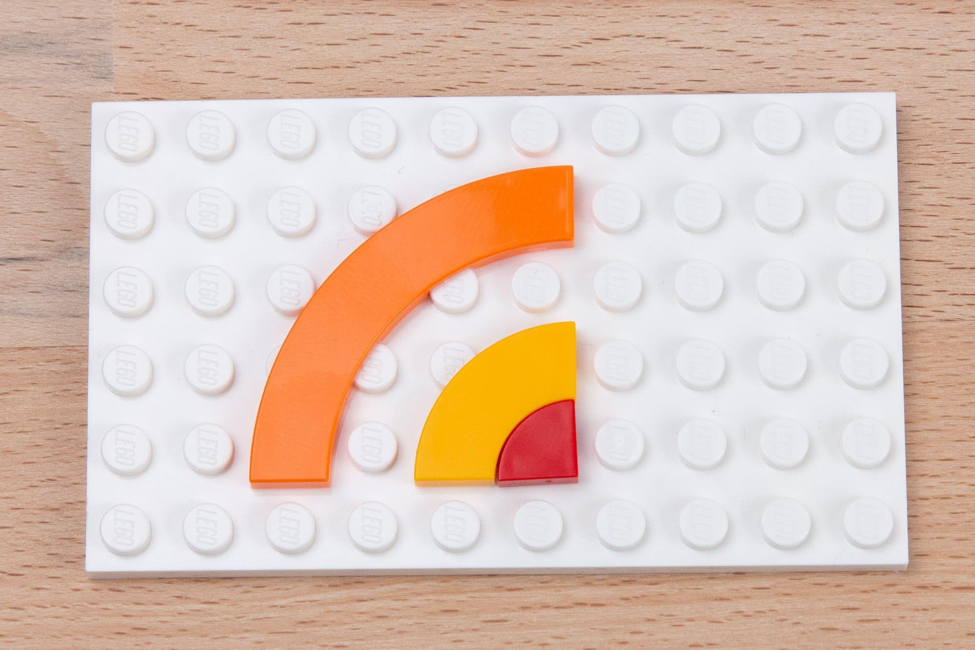 LEGO 3x3 Viertelrund