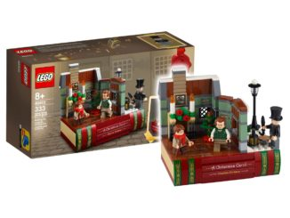 LEGO 40410 Hommage Charles Dickens Titel