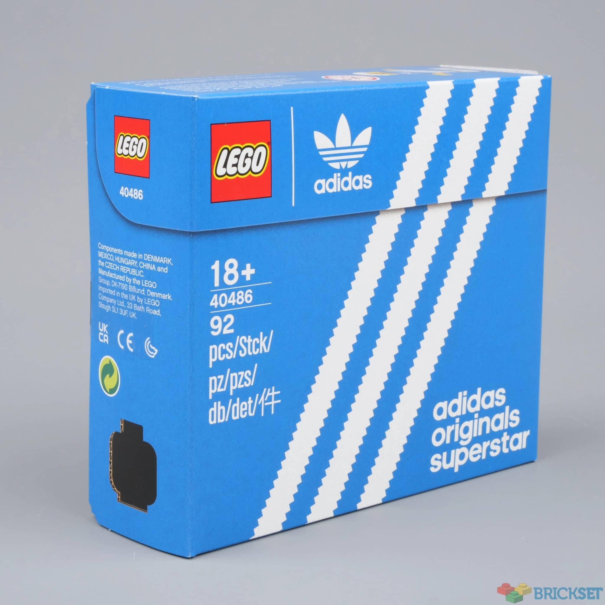 LEGO 40486 Mini Adidas Originals Superstar Box Brickset