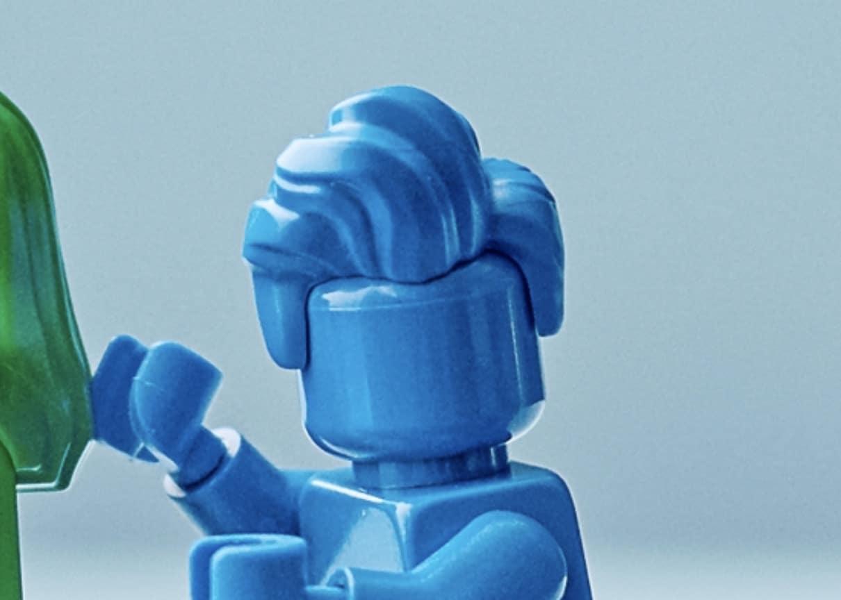 LEGO 40516 Blaue Frisur Neu