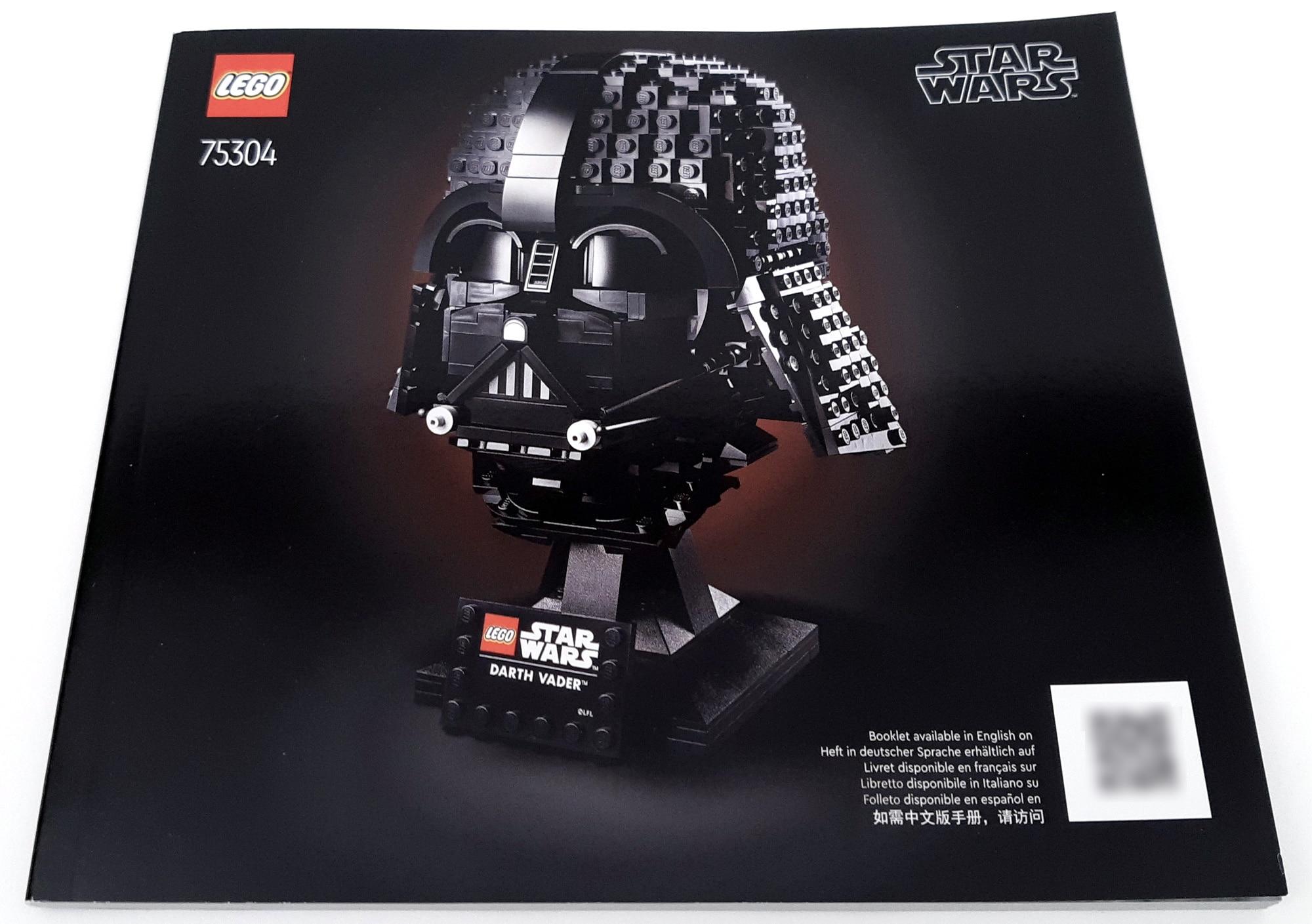 LEGO 75304 Darth Vader Helm Anleitung 1