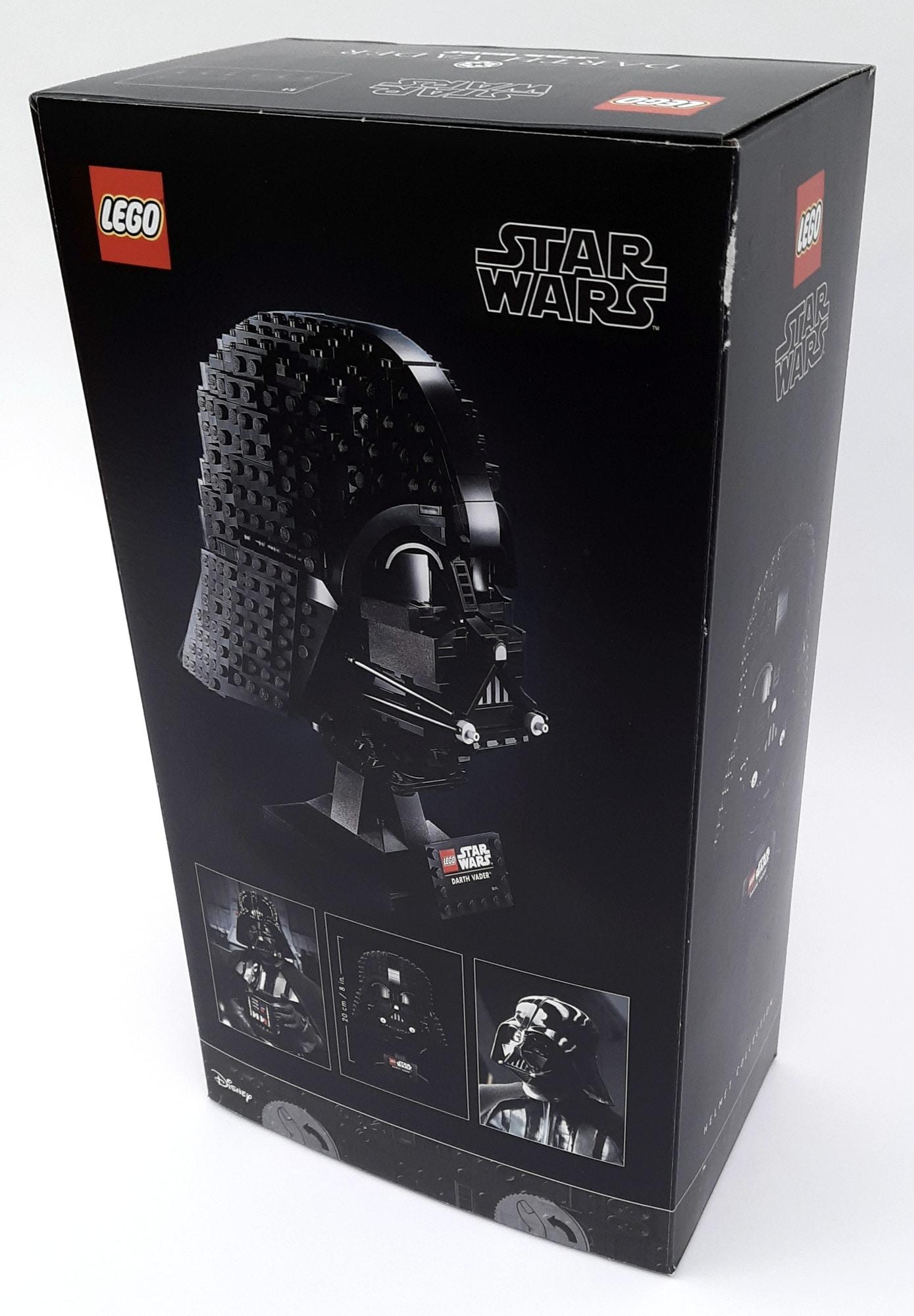 LEGO 75304 Darth Vader Helm Box Hinten