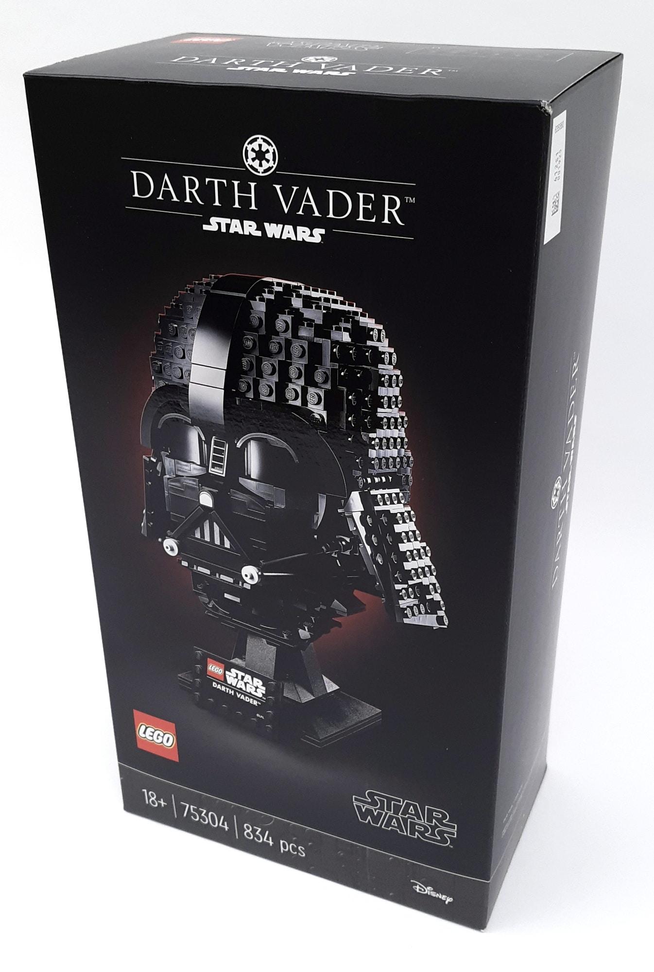 LEGO 75304 Darth Vader Helm Box Vorne