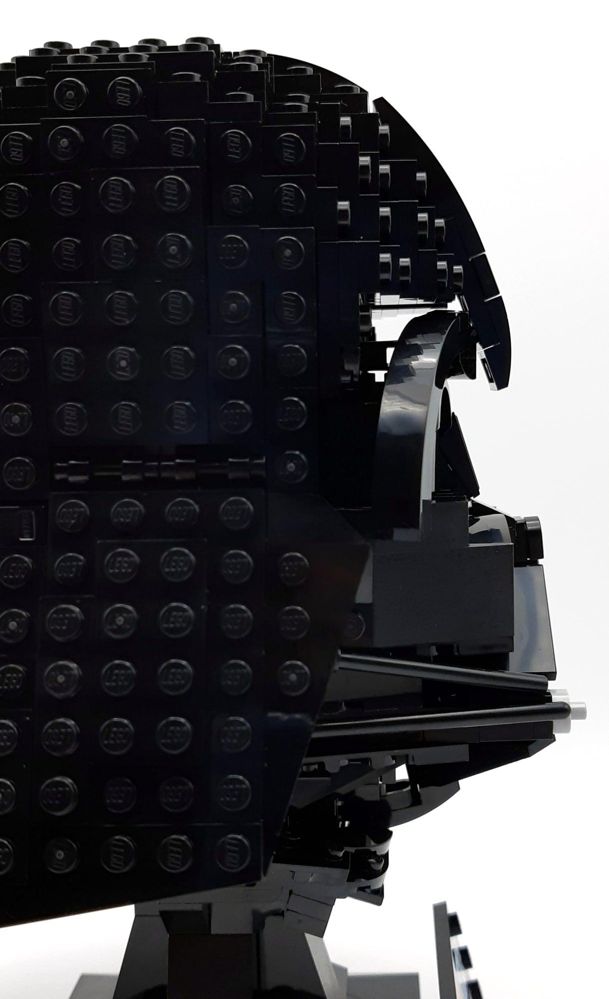 LEGO 75304 Darth Vader Helm Detail Spalten