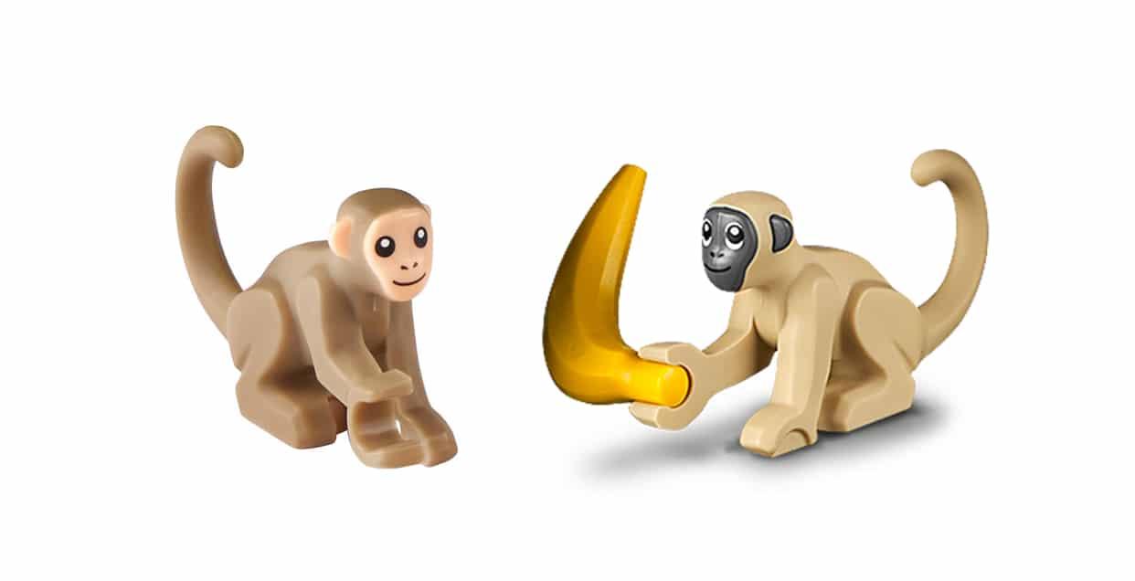 LEGO Affen Mit Banane