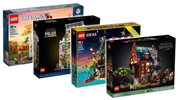 LEGO Angebote Galeria Mittelalterliche Schmiede 21325